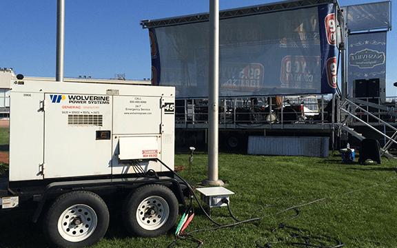 Rental Generator, Mobile Generator