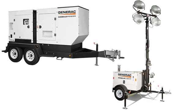 generac mobile generators and light towers